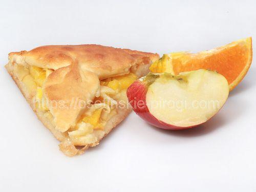 Осетинские пироги в Москве с доставкой С яблоком и апельсином