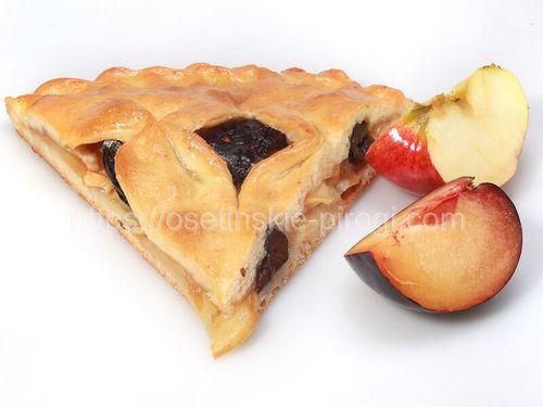 Осетинские пироги в Москве с доставкой С яблоком и сливой