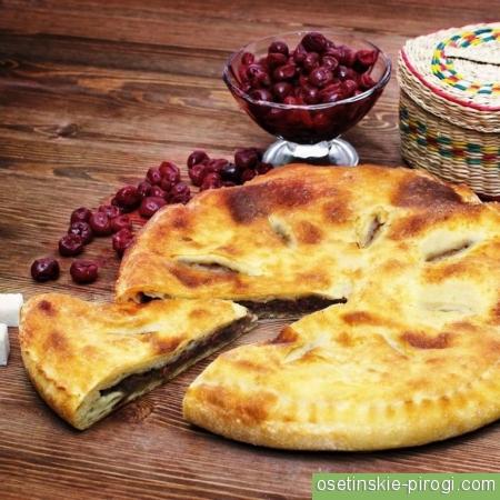 Вес осетинских пирогов