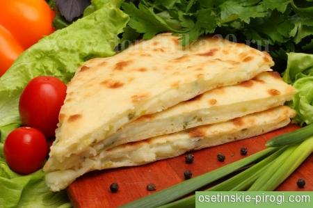 Видное осетинские пироги
